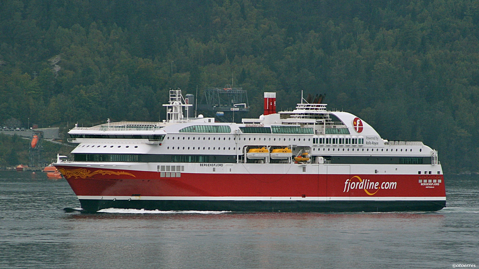 Ms Bergensfjord - Fjord Line - ©otoerres