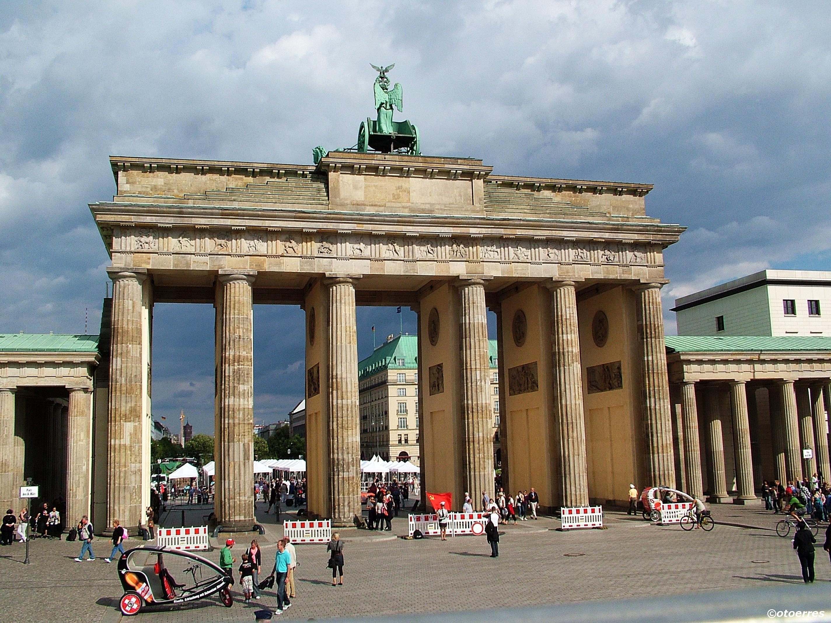 Brandenburger Tor - Muren - Berlin