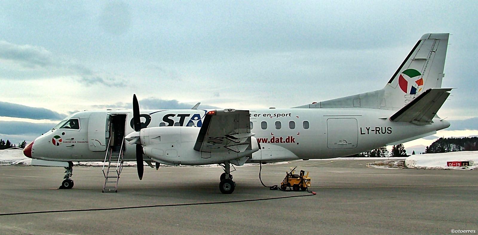 DAT - Saab 340 - Geiteryggen - 2012