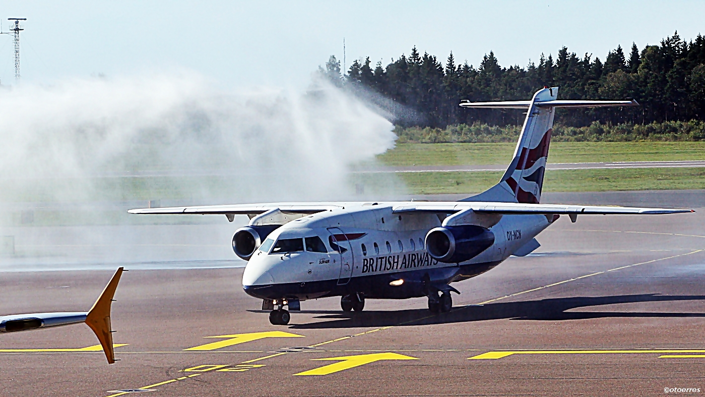Sun - air - Dornier 328 - Gøteborg