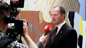 Statsråd Ketil Solvik-Olsen (Foto: Reynir Johannesson/FrP)