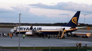 Ryanair la i sommer ned sin base i Billund. Det merkes på passasjertallene (arkivbilde: ©otoerres)