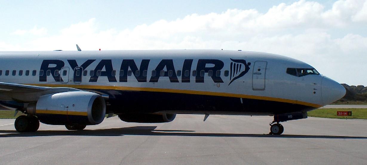 Ryanair - Boeing 737 - haugesund