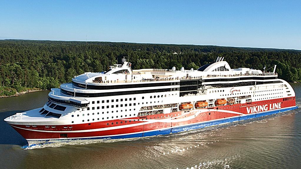 Viking Grace - Viking Line - Gassferje