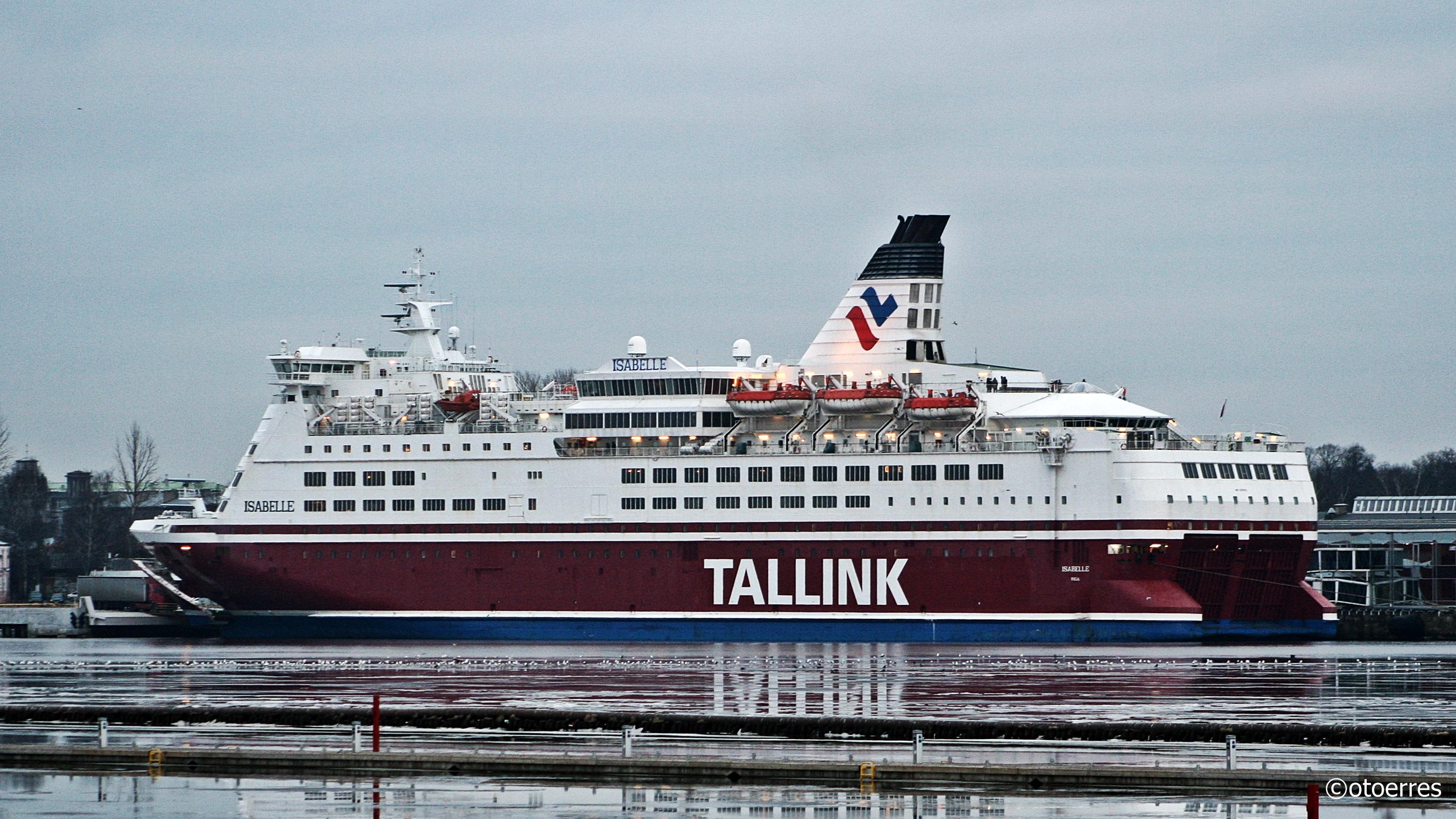 Tallink - Isabelle - Isabella - Viking Line - Riga - Daugava