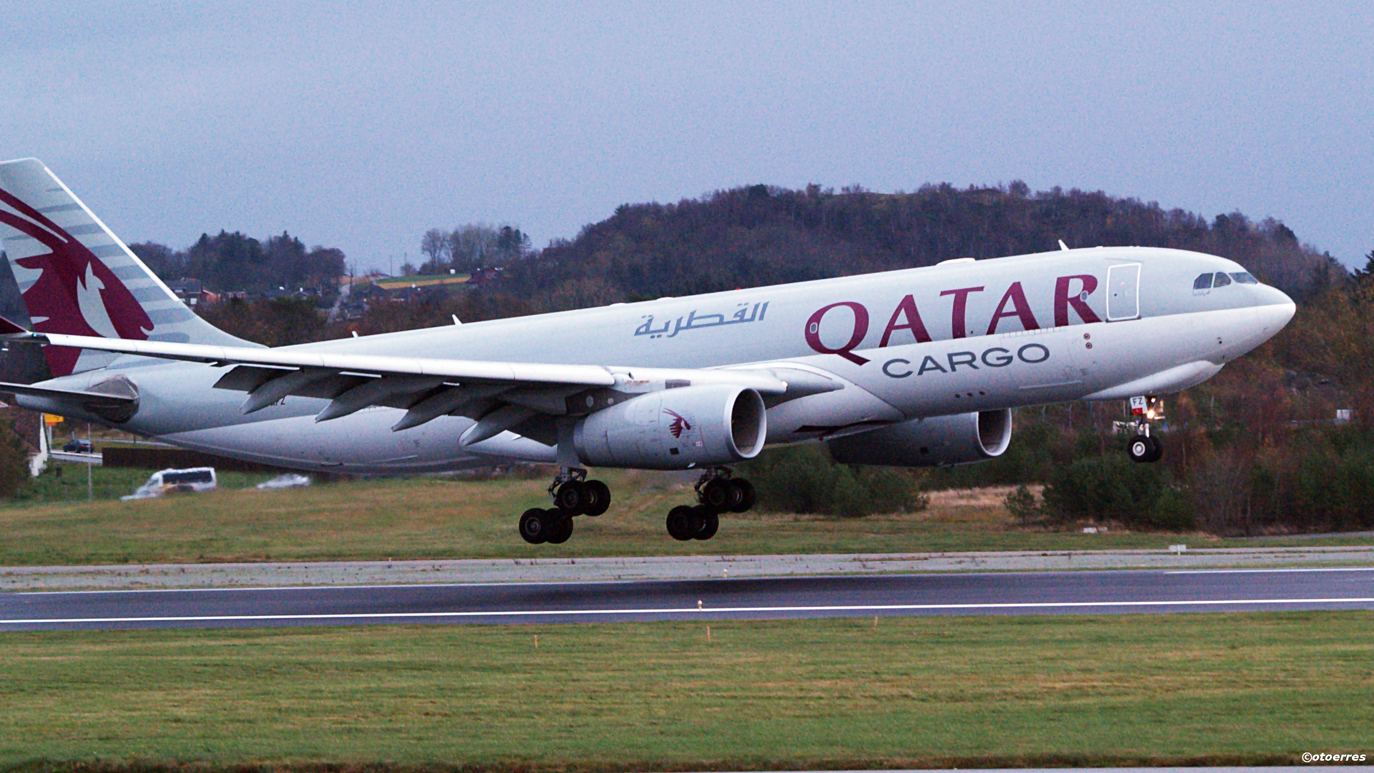 Qatar Airways Cargo - Airbus A 330F