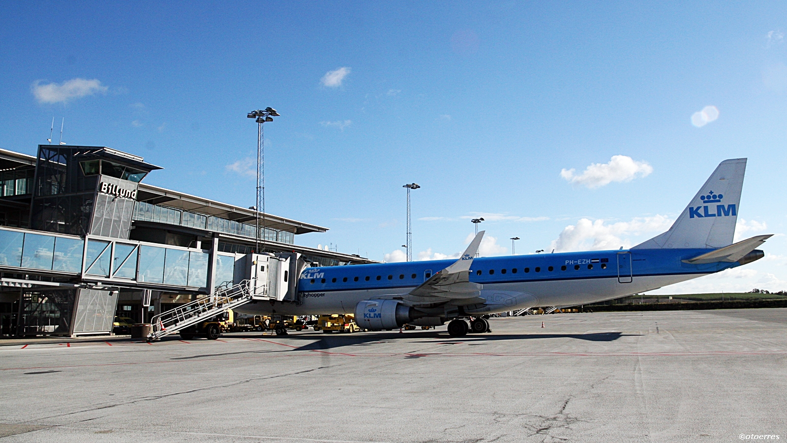 Billund - Danmark - KLM - Embraer