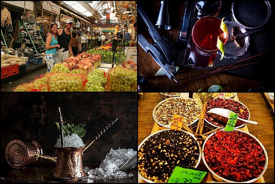 Tel Aviv - kulinarisk - montasje