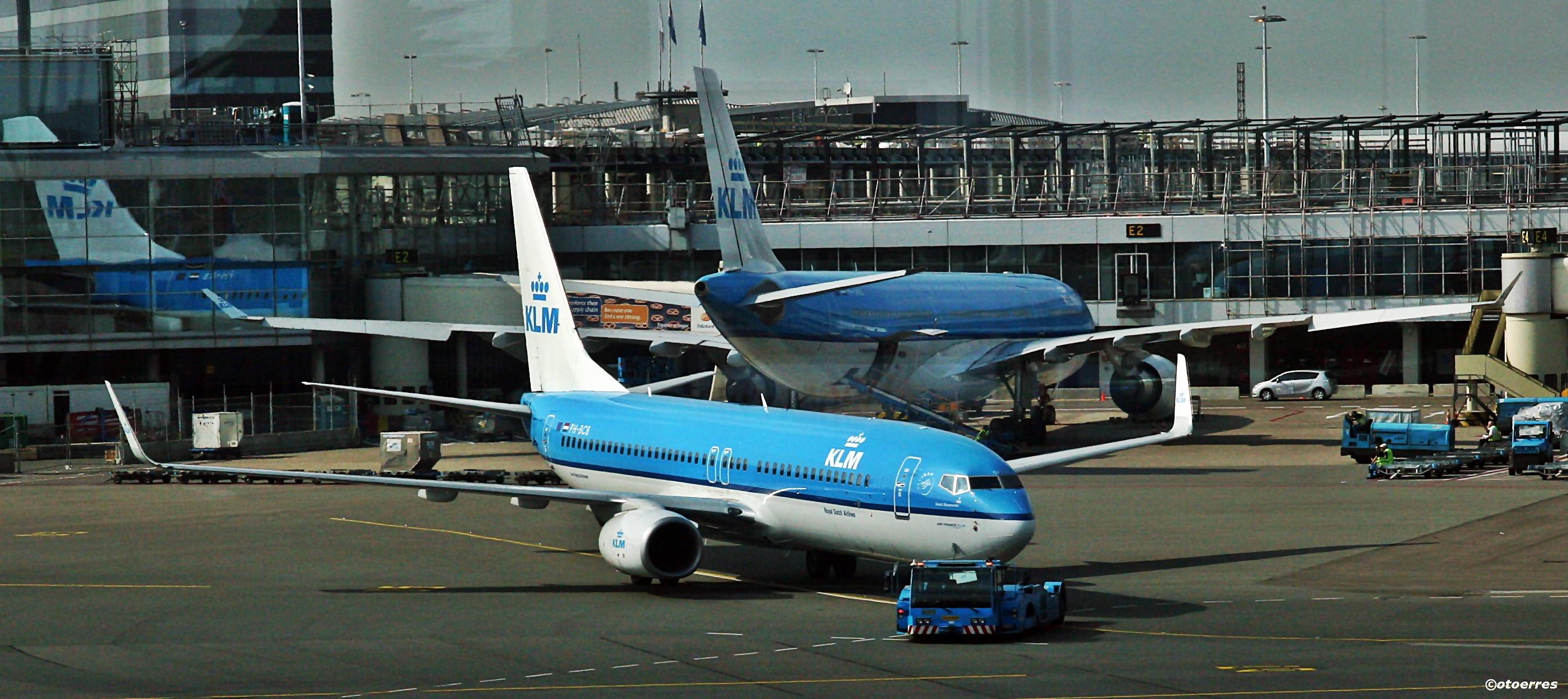Amsterdam - Schiphol - Flyplass - KLM