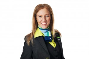Anna Nilsson är chef på Golden Air (Sverigeflyg.se)