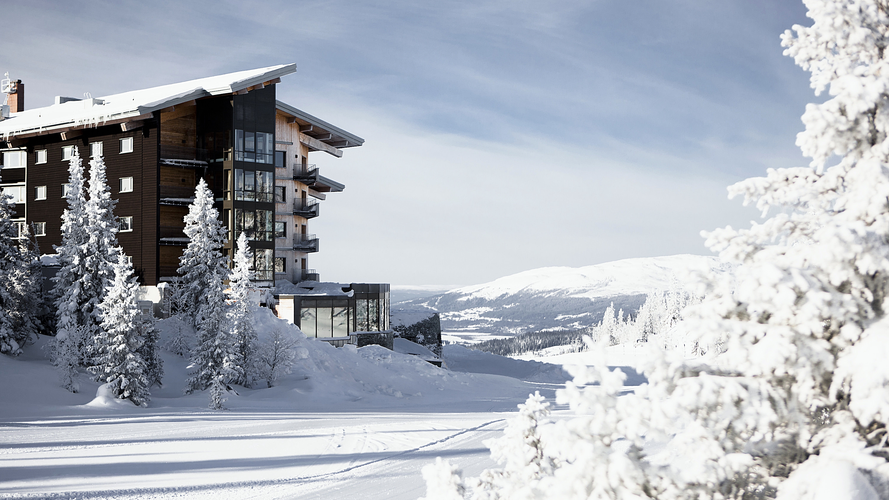 Copperhill, Åre - Eksteriør , vinter