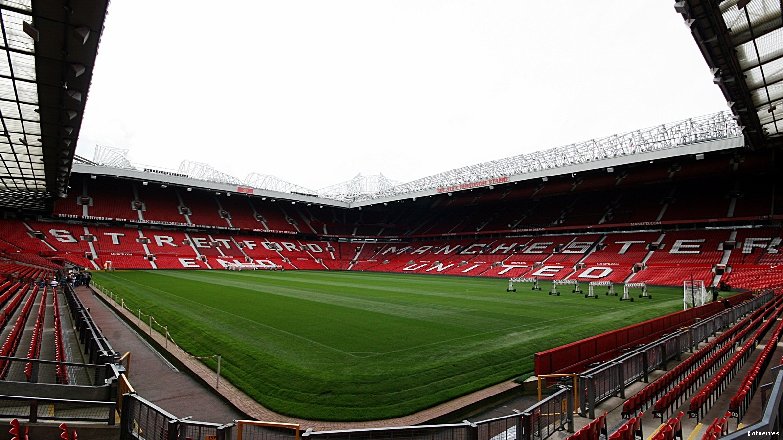 Old Trafford - fotballstadion - Manchester