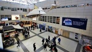 Dagens terminal på Bergen lufthavn Flesland(©otoerres)