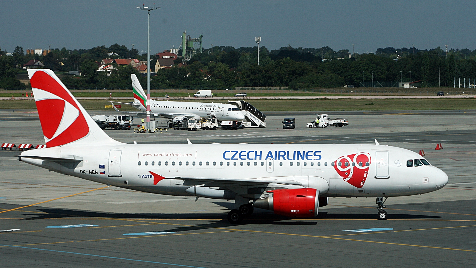 Praha - Czech Airlines - Airbus 319
