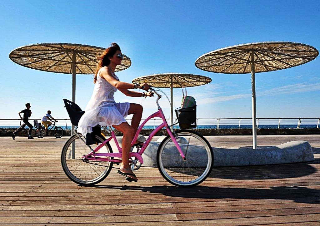 Tel Aviv - Israel - Strandpromenade