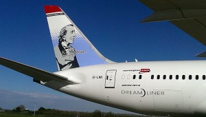 H.C. Andersen was the first Danish author at Norwegians Dreamliners (Norwegian.dk)