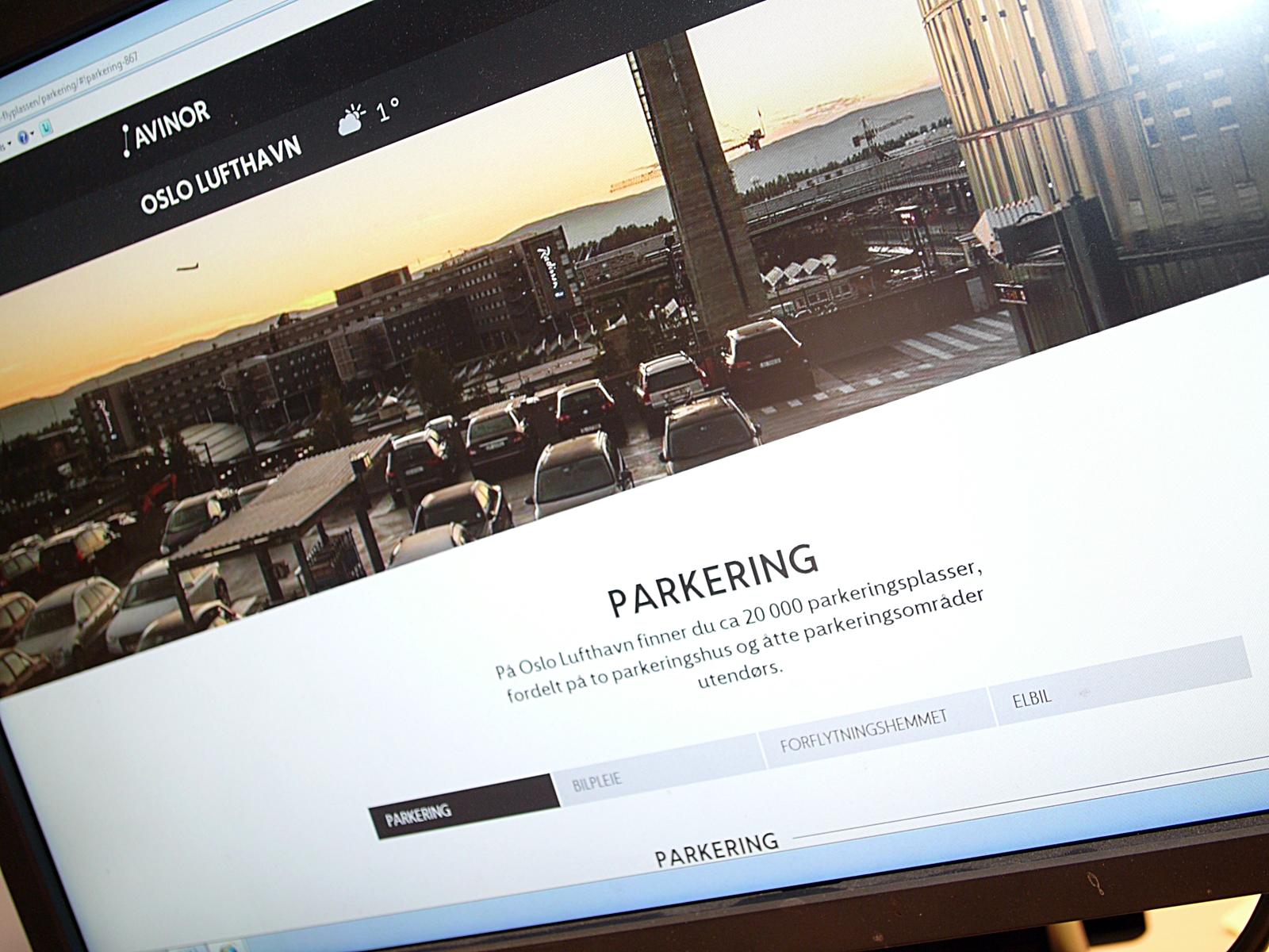 oslo parkering