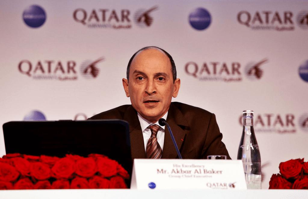 akbar al baker - qatar Airways