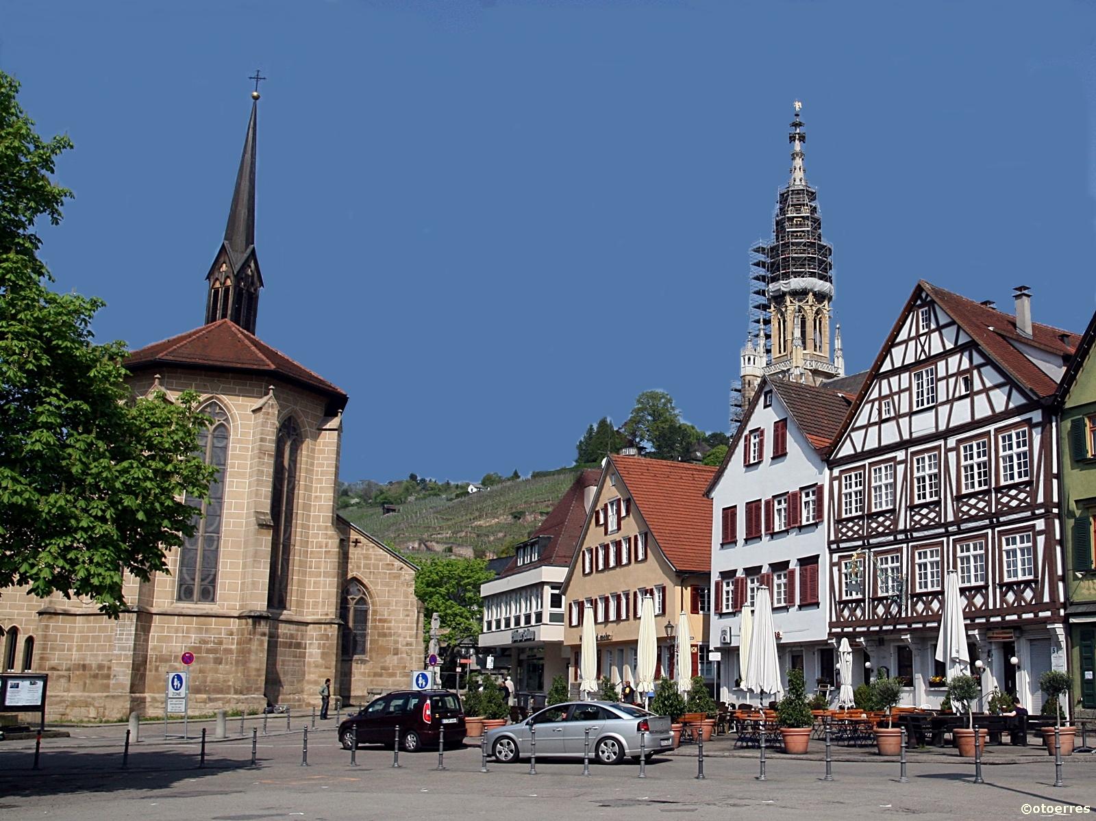 Esslingen - Tyskland- Neckar