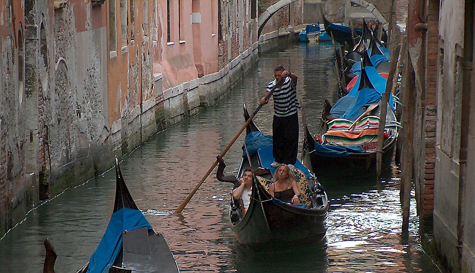 Venezia - Gondol - kanal