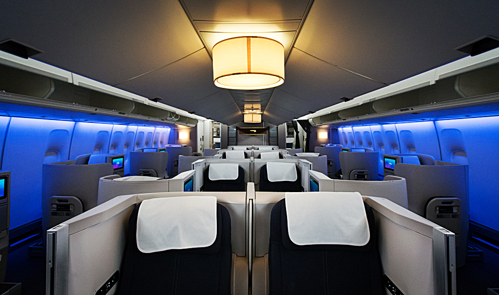 British Airways - Boeing 747 - interior - 2015