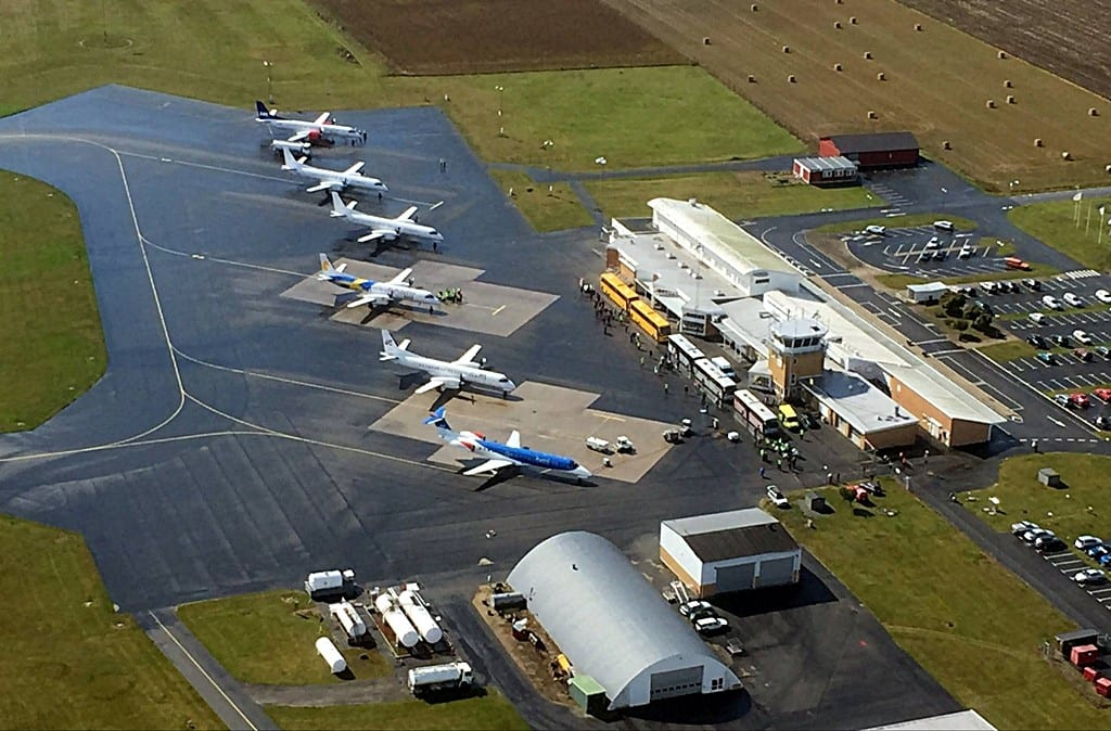 Kristianstad Österlen Airport - Sverige