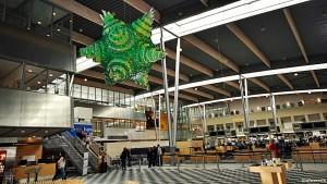 Afgangshallen i Billund Lufthavn (©otoerres)
