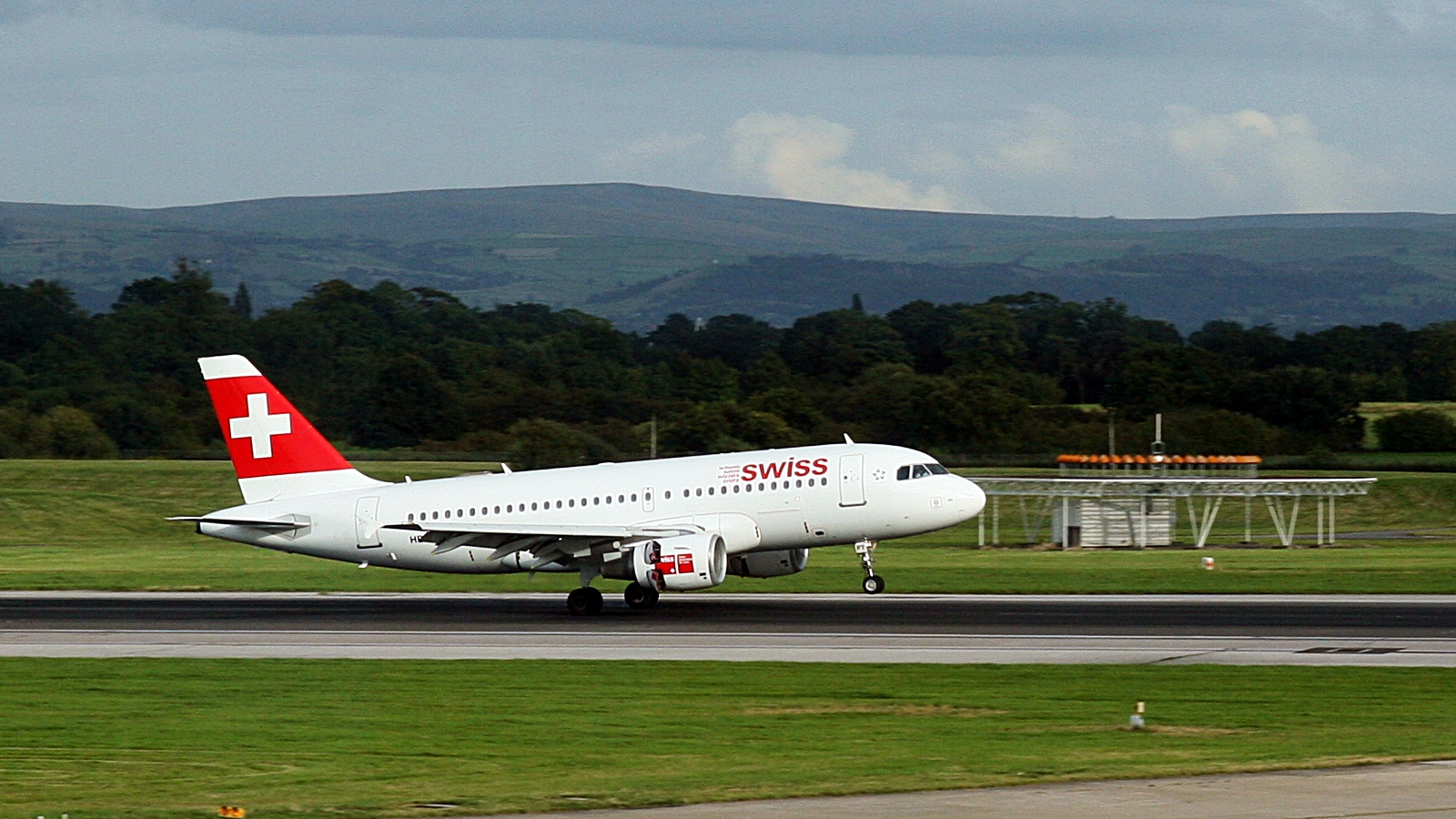 Swiss - Airbus A 319 - Manchester