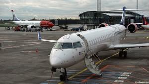 Flygninger med SAS sine underleverandører som Cimber (bildet) , Jet Time og City Jet , berøres ikke av den svenske pilotsteiken (©otoerres)