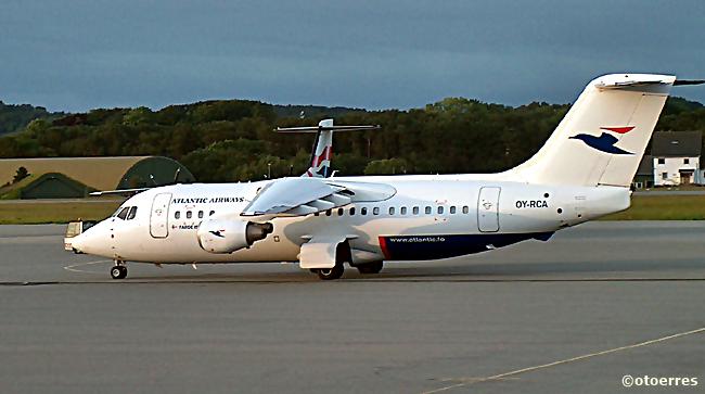 Atlantic Airways - Bae/Avro - Stavanger lufthavn Sola