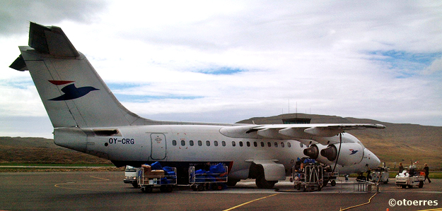atlantic airways - AVRO RJ - BAe - Vagar Floghavn