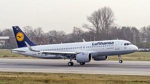 Lufthansas A 320neo har plass til 120 passasjerer i en to-klasse konfigurasjon (bildekilde; Lufthansa/Airbus)