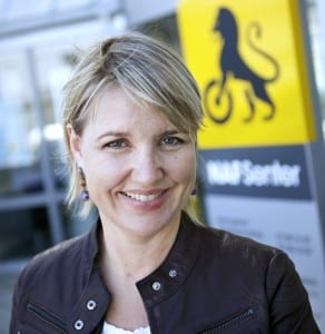 Inger Elisabeth Sagedal (Foto: NAF/Erik Norrud)