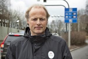 — Et satelittbasert system vil gjøre det mulig å prise hver kilometer du kjører, sier generalsekretær Børre Skiaker i KNA. (Foto: Rolf Magnus W. Sæther, Newswire)