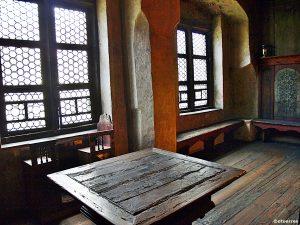 Spisebordet i stuen hjemme hos Marthin Luther (©otoerres)