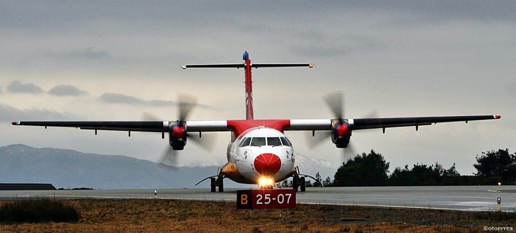 DAT - ATR 42 - Florø - Lufthavn - Sunnfjord - Vestland fylke