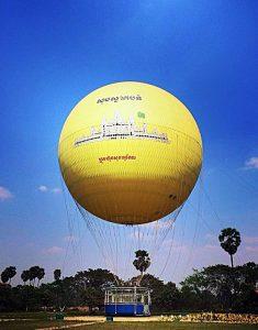 Om eventyrlysten enda ikke har fått deg til å lure på om det er verdt turen hele veien til magiske Angkor, så «sett deg oppi kørja og la ballongen gå». Kambodsja neste! (bilde: BH)