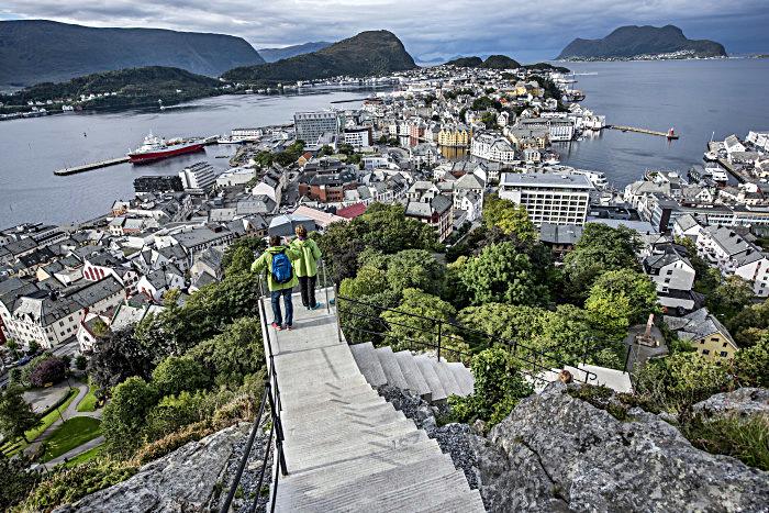 Fjellstuetrappene - Ålesund - Sunnmøre - Mapei