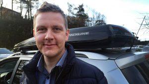 Roger Ytre-Hauge, fagsjef motor, Frende Forsikring.