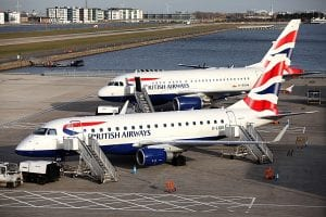 BA`s two A 318 at London City Airport (ba.com)