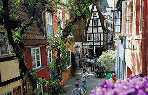 Gamlebyen Schnoor i Bremen (bilde: BTZ)