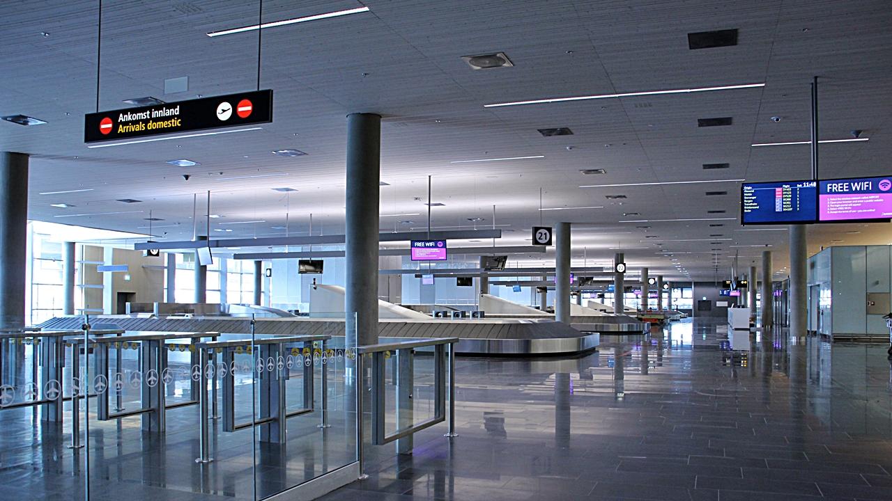 ankomst oslo lufthavn