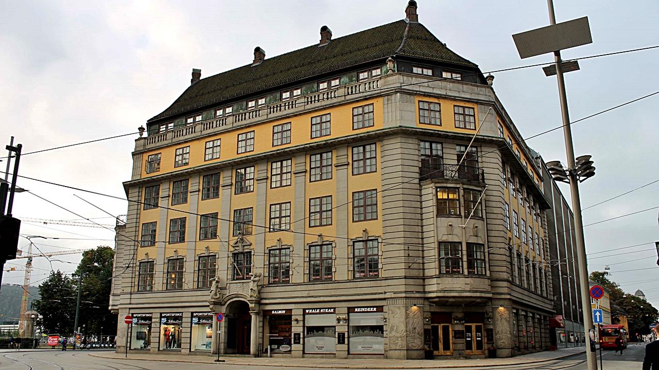 Amerikalinjen - hotell - NAL -Fasade - Jernbanetorget 2 - Oslo - Choice Hotels