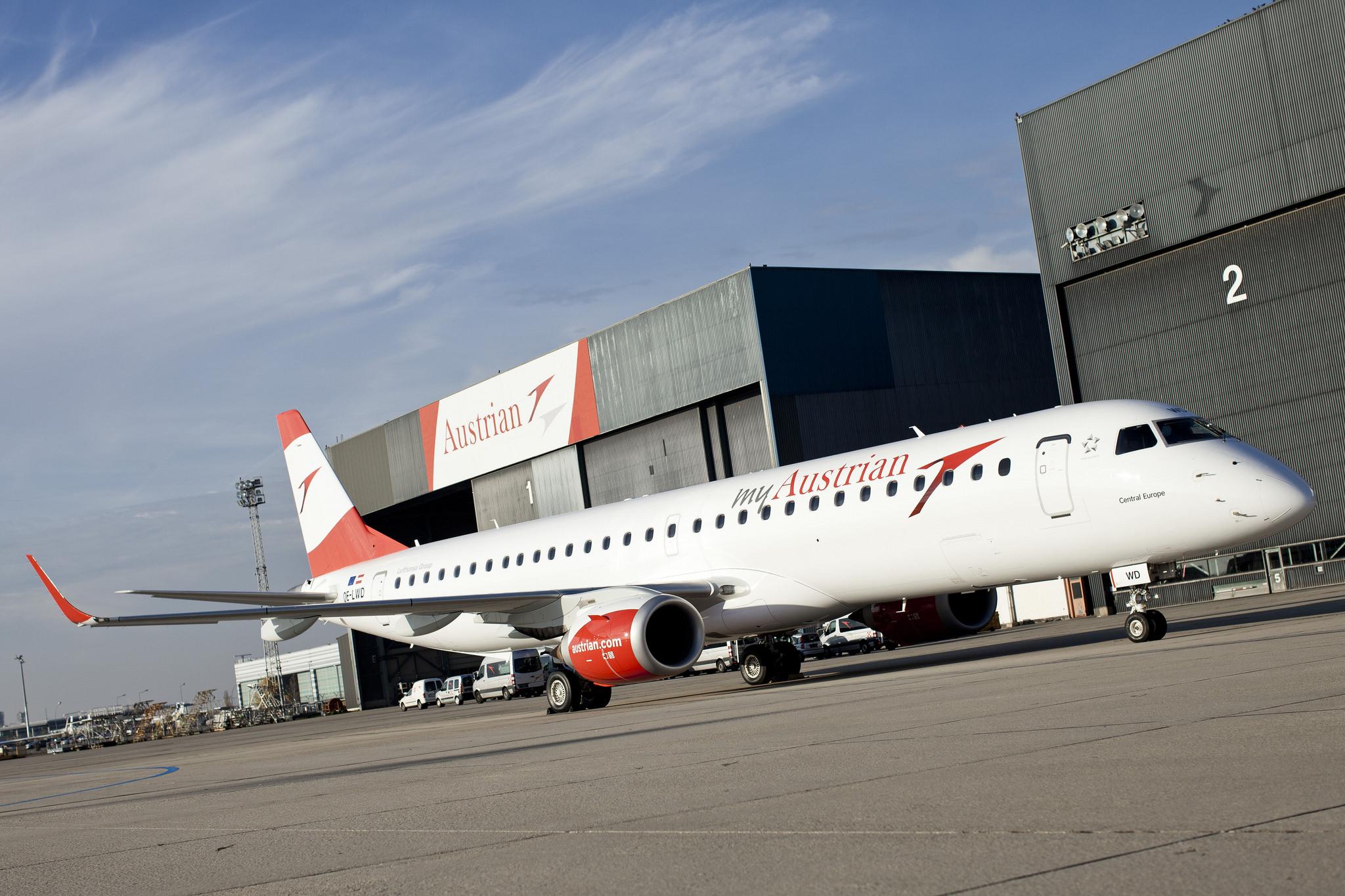 Austrian Airlines - Embraer E 195