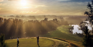 En av de mange golfbanene i Alabama, USA (Bilde: Midlife Road Trip)