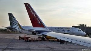 Norwegian og Vueling kniver om å være nest største flyselskap etter Ryanair på Alicante - Elche Airport (bilde: ©otoerres)