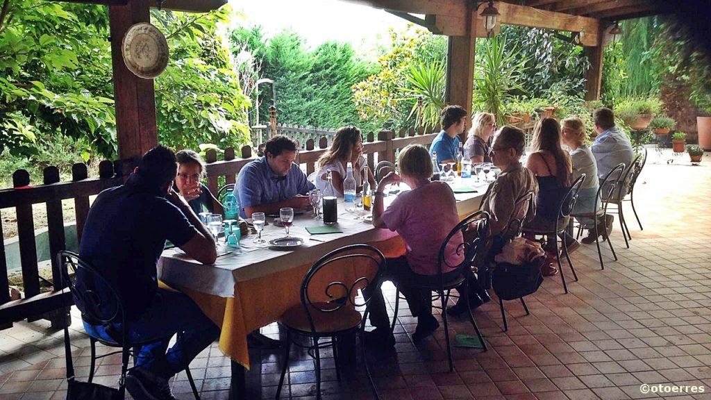 Italia - restaurant - friluft