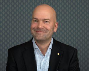 Konsernsjef Rickard Ternblom er svært tilfreds med nyheten fra Sandefjord kommune. (Foto: Fjord Line)