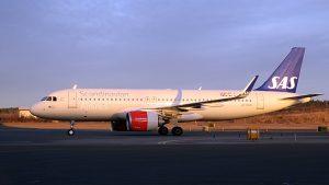 SAS Airbus A 320neo (bild: sas.ab)