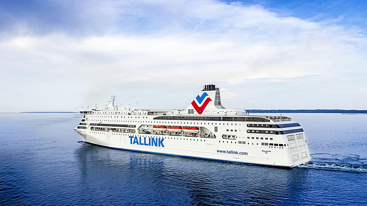 tallink - ms romantika - ferje - østersjøen